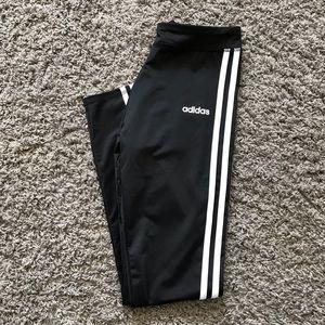 ADIDAS Black Striped leggings